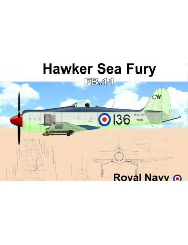 AMG 48617 Hawker Sea Fury...