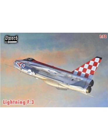 Sword 72082 Lightning F.3 1/72