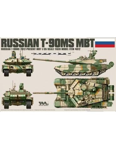 Tiger Model 4612 Российский основной боевой танк Т-90МС 1/35