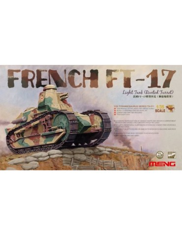 Meng TS-011 French FT-17...
