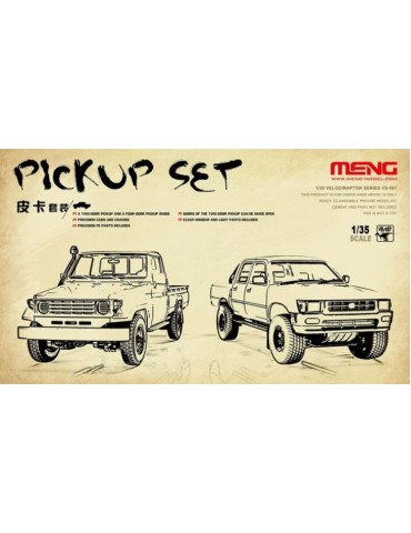 Meng VS-007 Pickup Set 1/35