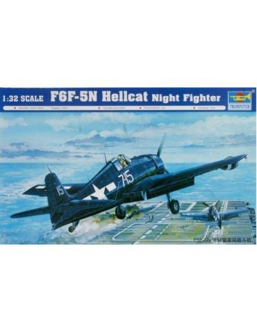 Trumpeter 02259 F6F-5N Hellcat Night Fighter 1/32