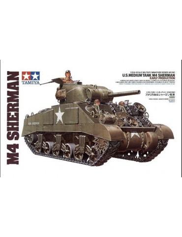 Tamiya 35190 Американский средний танк М4 Sherman (ранняя версия) 1942г. 1/35