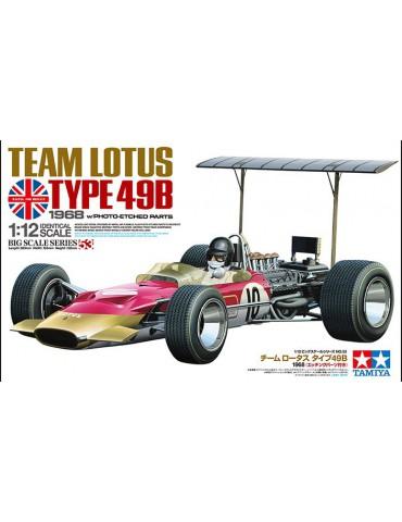 Tamiya 12053 Team Lotus type 49B with Etched Parts 1/12