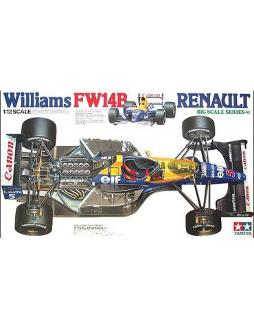 "Tamiya 12029 ""Canon"" Williams FW 14B Renault 1992 1/12"