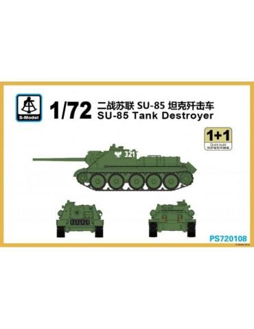 S-Model PS720108 СУ-85 Tank...