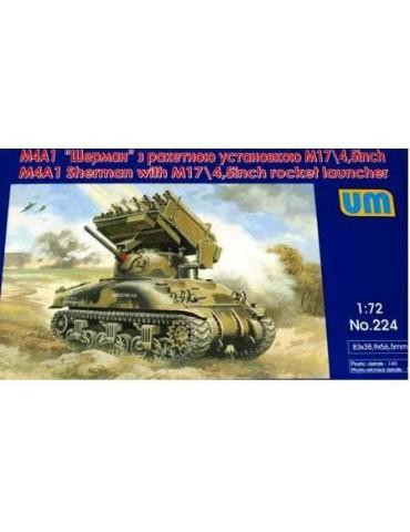 UM Models 224 M4A1 Sherman...