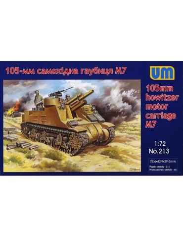 UM Models 213 105-mm M7 gun...