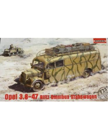 Roden 723 Автобус Opel...