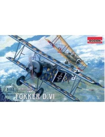 Roden 007 Самолет Fokker...
