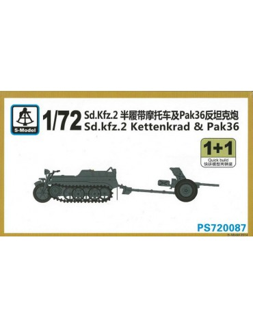 S-Model PS720087 Sd. kfz.2...