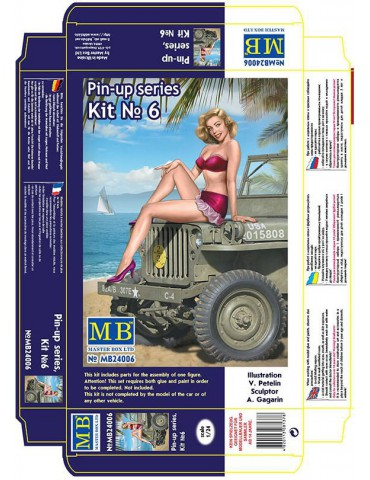 "Master Box МВ24006 ""Пин-ап...."