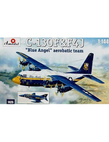 Amodel 1425 C-130 & F-4J...