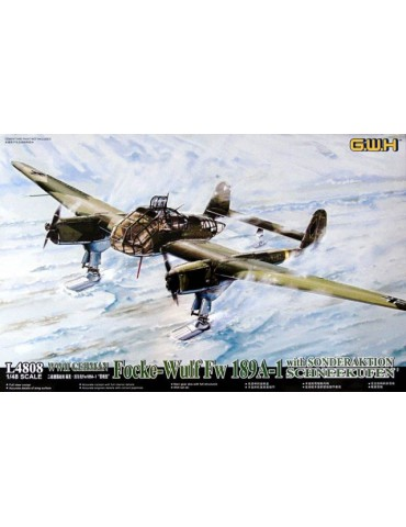 Great Wall Hobby L4808 WWII...