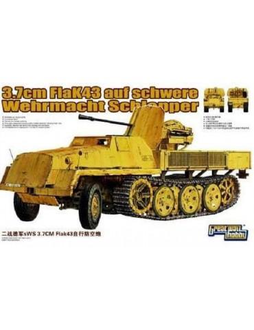 Great Wall Hobby L3516 WWII German 3.7cm FlaK 43 auf Sws 1/35
