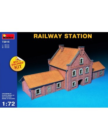 MiniArt 72015 Железнодорожная станция 1/72