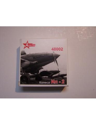 A-Resin 48002 Ил-2 колеса...