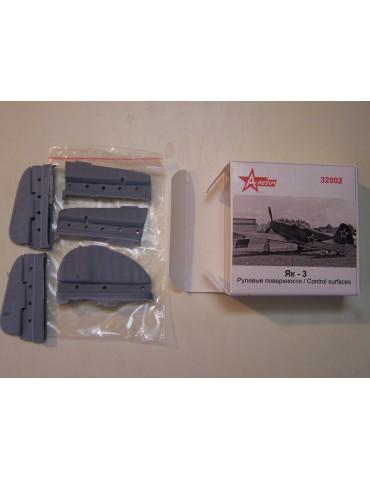 A-Resin 32002 Як-3 рулевые...