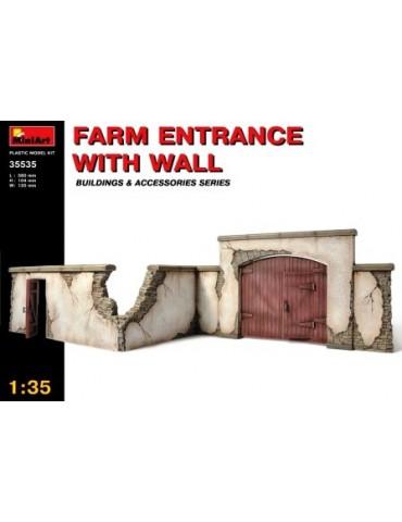 MiniArt 35535 Забор фермы с...
