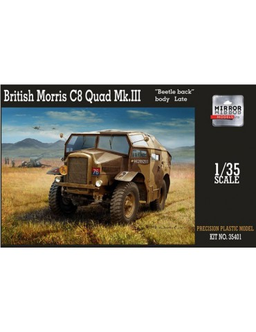 "MIRROR Models 35401 British Morris C8 Quad Mk.III ""Beatle back"" body Late 1/35"