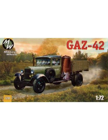 Military Wheels 7241 Г-42 1/72