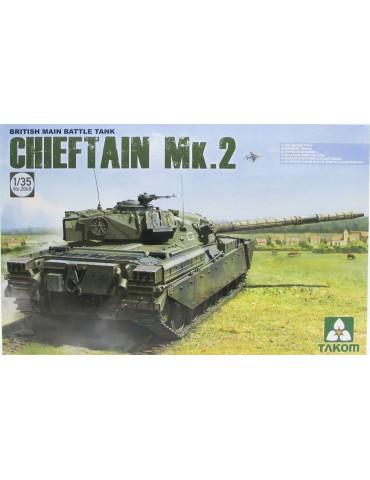 Takom 2040 British Main Battle Tank Chieftain Mk.2 1/35