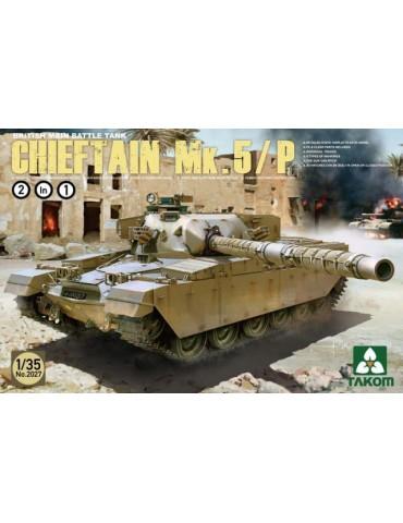Takom 2027 British Main Battle Tank Chieftain Mk.5/P 2 in 1 1/35