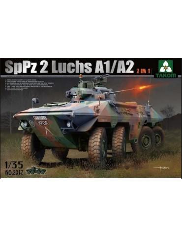 Takom 2017 Bundeswehr SpPz 2 Luchs A1/A2 2 in 1 1/35