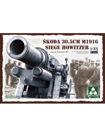 Takom 2011 Skoda 30.5cm M1916 Siege Howitzer Siege Of Sevastopol 1942 1/35