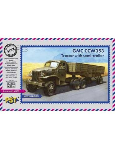 PST 72064 GMC CCW 353 тягач...