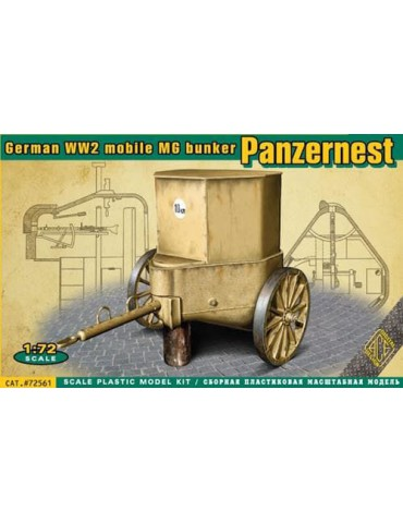 ACE 72561 German WW2 mobile...