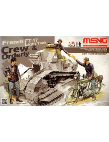Meng HS-005 French FT-17...