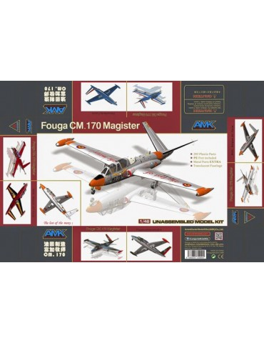 AMK 88004 Самолет Fouga CM.170 Magister 1/48